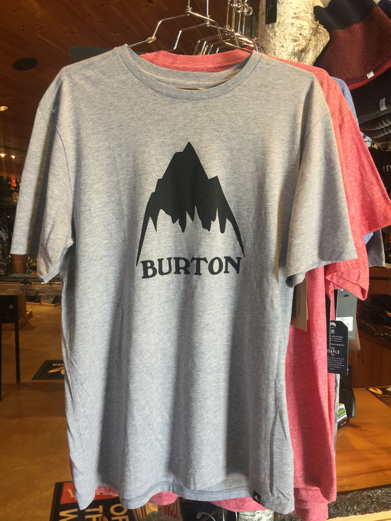 Burton x Backwoods Cross Hatchet Tee - Heather Gray