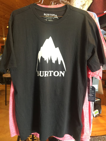 Burton x Backwoods Cross Hatchet Tee - Black
