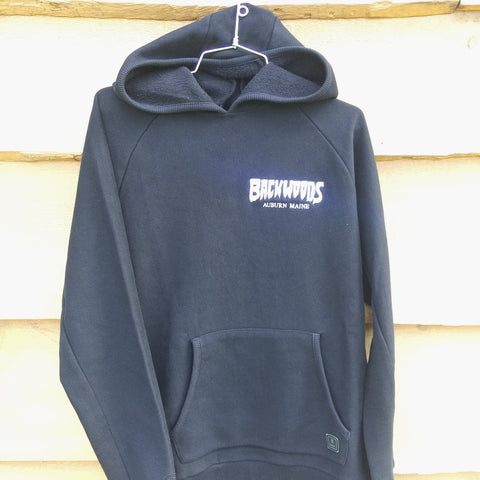 Roark x Backwoods Monger Hooded Fleece - Black