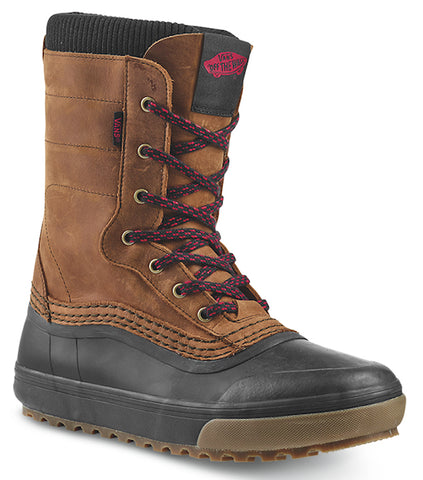 Vans Standard Zip Snow Boot - Brown/Black