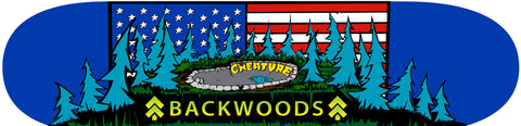 Backwoods x Creature Skatedeck