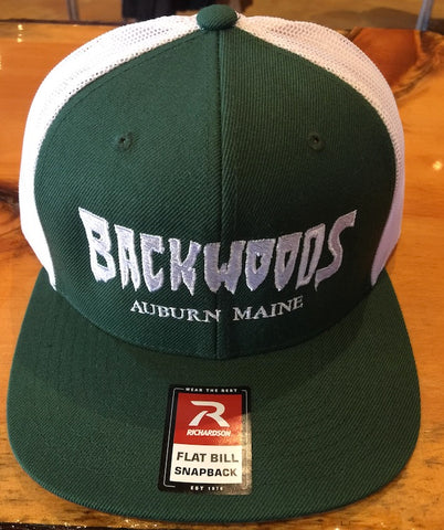 Backwoods Wool Blend Trucker Hat