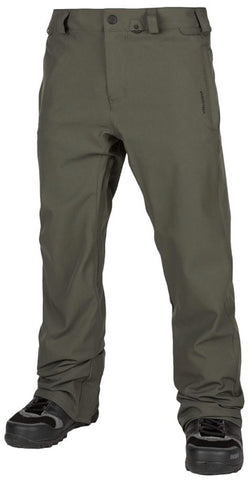 Volcom Freakin Snow Chino Pant - Brown / Green