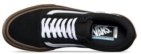 Vans Skate Pro Old Skool - Black/White/Medium Gum
