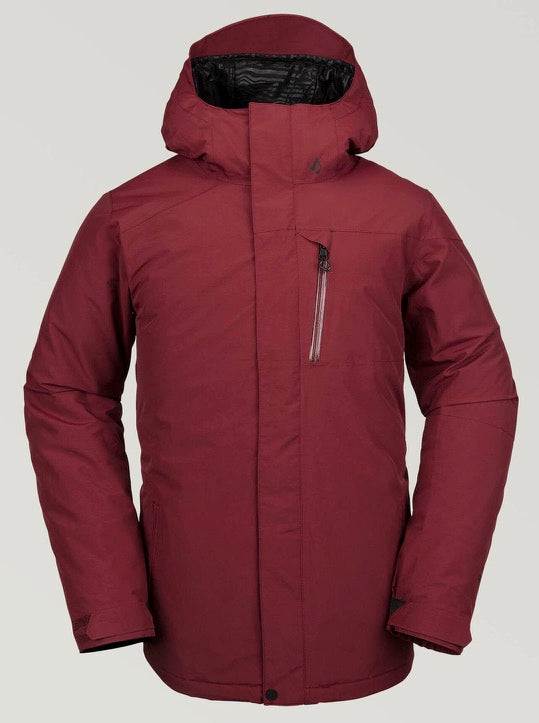 Volcom L Insulated GoreTEX Jacket - Burnt Red