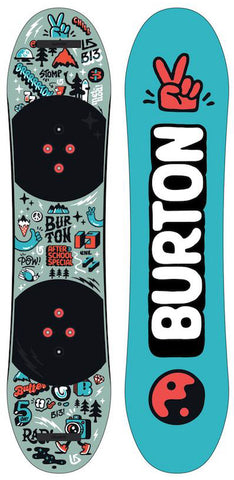 Burton After School Special Kids Snowboard w/ Bindings 2021