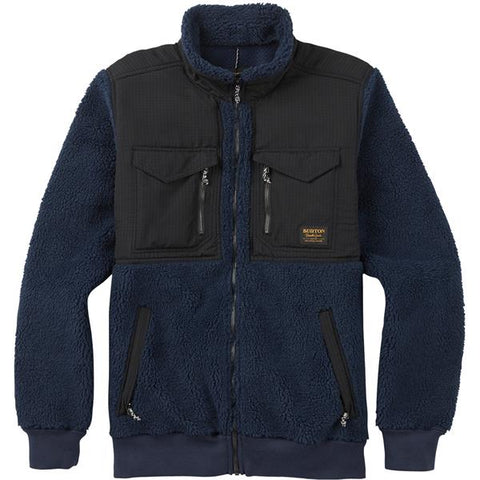Burton Bower Fleece Full Zip Jacket - Mood Indigo