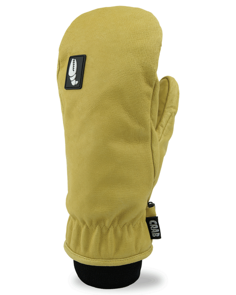 Crab Grab Man Hands Snowboard Mitten - Man Tan