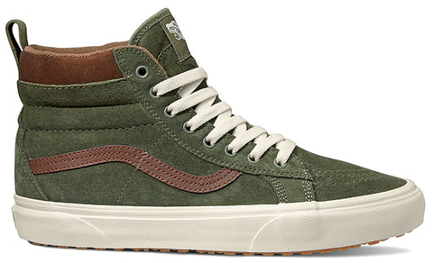 Vans Sk8-Hi MTE - Deep Lichen Green/Root Beer