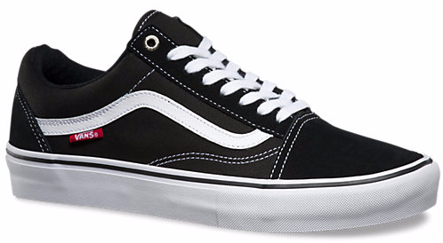 Vans Skate Pro Old Skool - Black/White