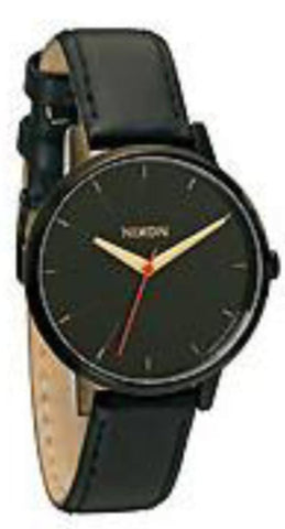 Nixon Kensington Leather / All Black