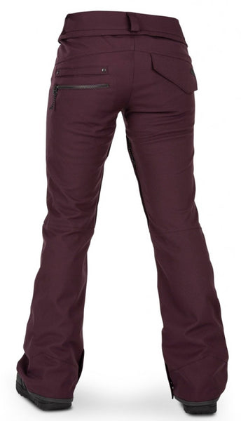 Volcom Species Stretch Womens Pant - Merlot