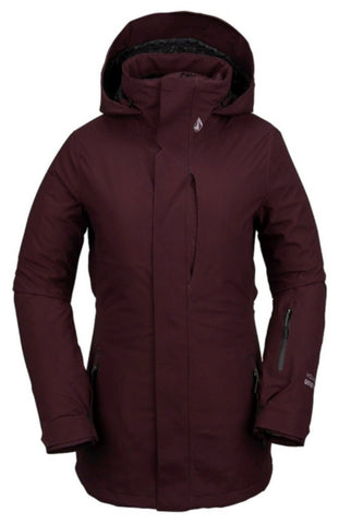 Volcom 3D Stretch Gore-TEX Womens Jacket - Merlot