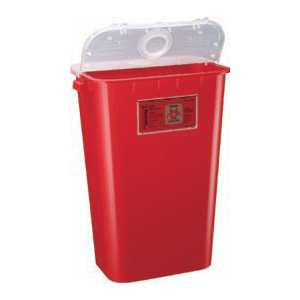 11 Gallon Sharps Container - Dual Purpose Lid
