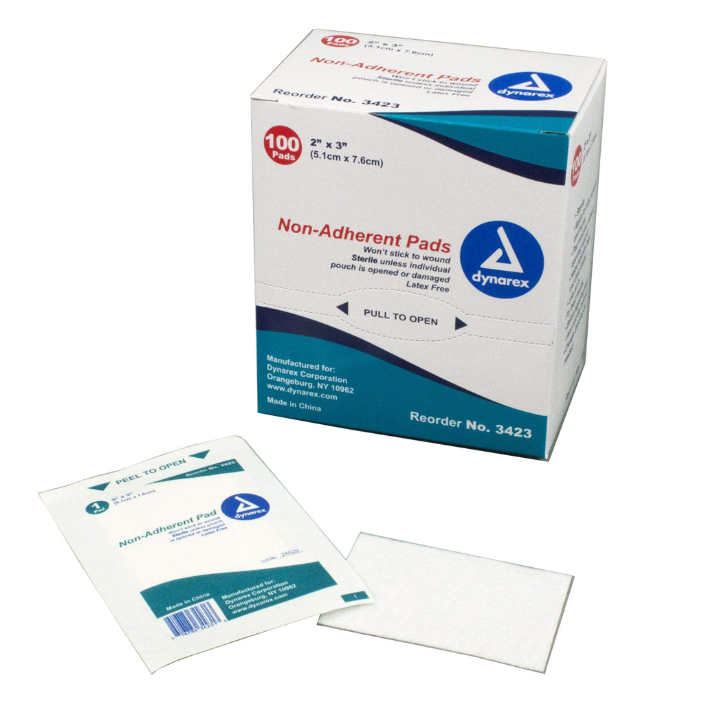 Non-Adherent Pads – Sterile