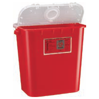 8 Gallon Sharps Container - Dual Purpose Lid