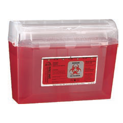3 Quart Wall Safe Sharps Container