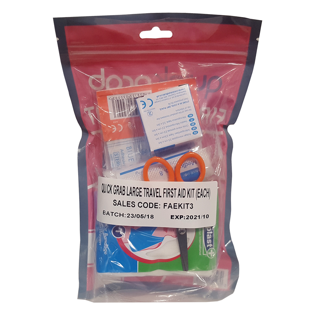 Quick Grab Travel First Aid Kit – Innovative Safety Supply