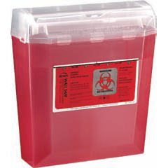 5 Quart Wall Safe Sharps Container