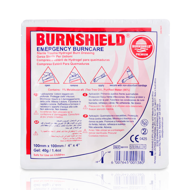 Burn Gel Dressings