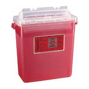 3 Gallon Sharps Container - Rotating Lid
