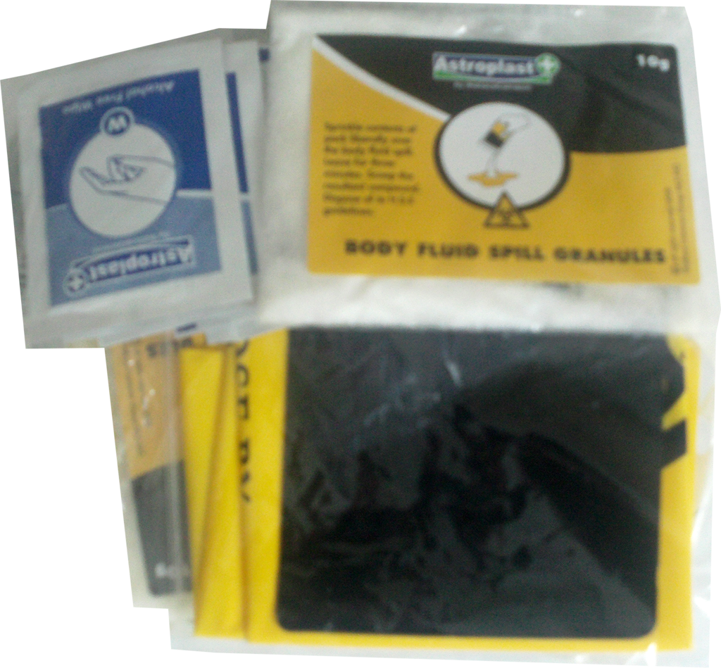 Body fluid refill - Biohazard Cleanup Kit