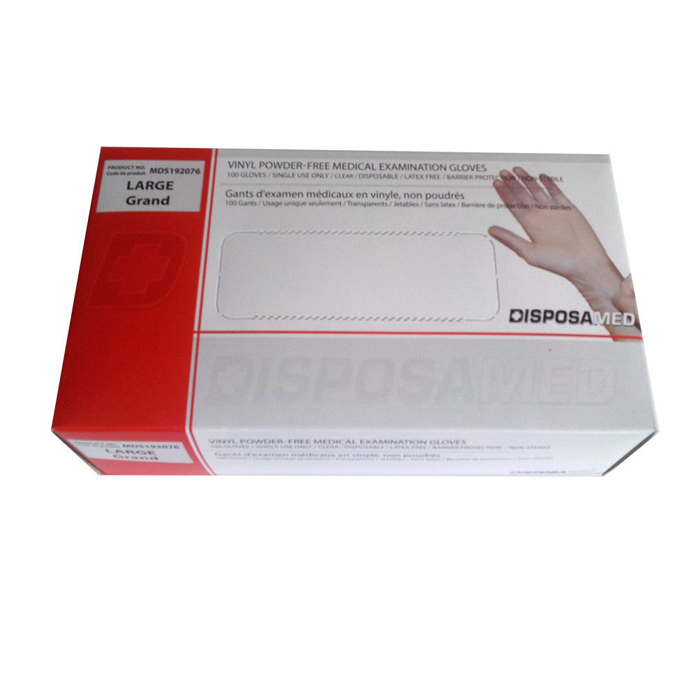 First Aid Exam Gloves (6 packs of 4 pairs)