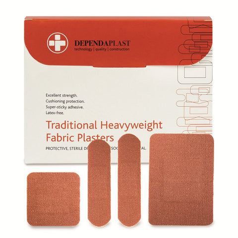 Dependaplast Heavyweight Fabric Adhesive Knuckle Bandages
