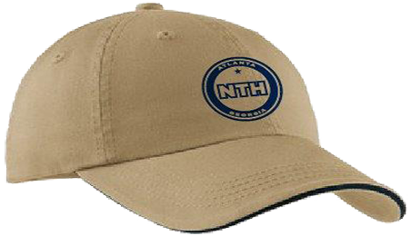 Embroidered Canvas Cap - NTH Logo