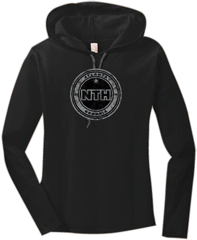 Ladies Light Weight Hoodie - NTH Logo (887L)