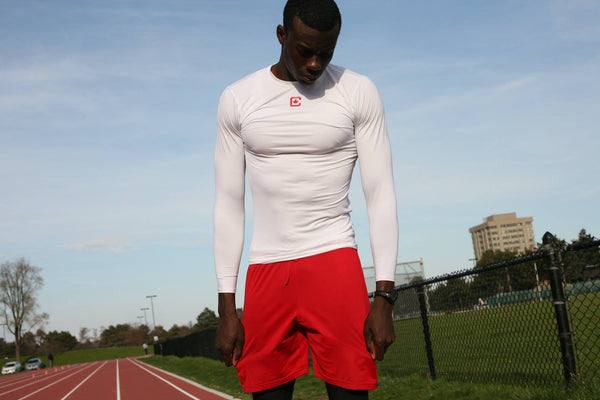 Compression White Long Sleeve - CAAN & CDN Apparel™