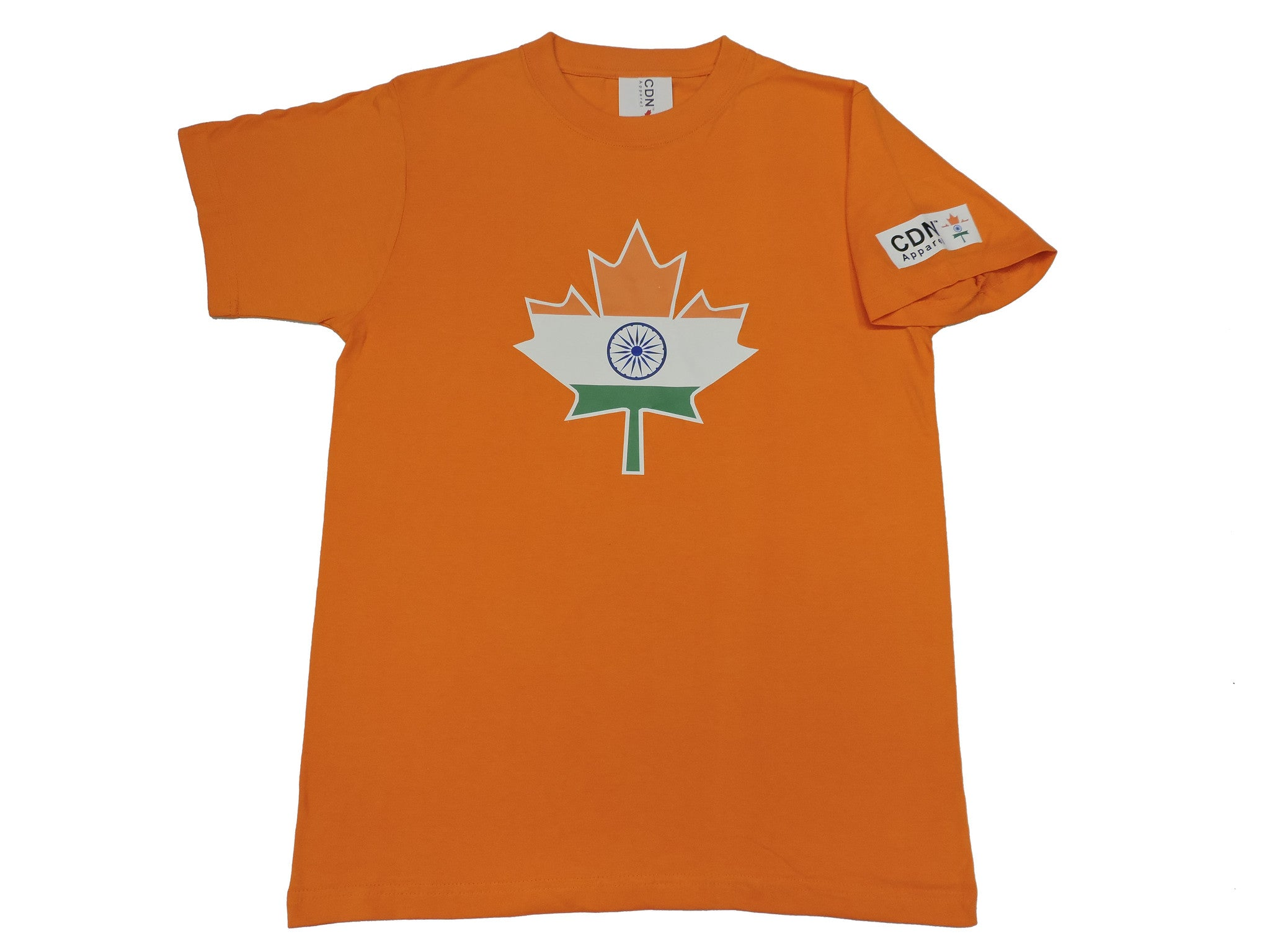 India Canadian Leaf tshirt - Canadian Apparel™