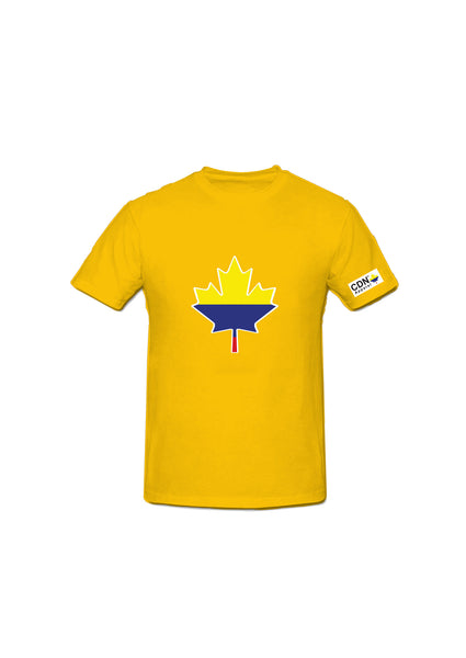 Colombian Canadian Tshirt - Canadian Apparel™