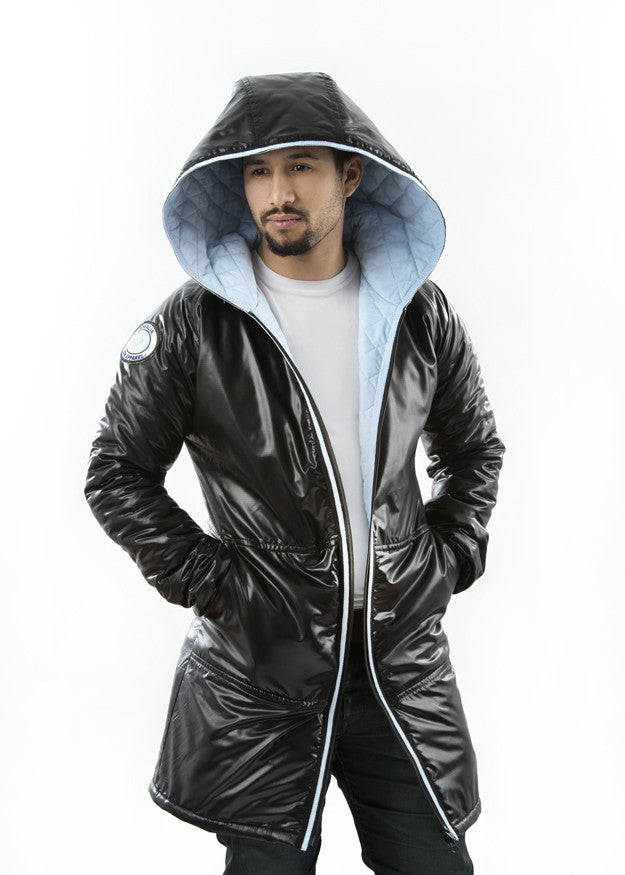 Somalian Canadian - Diamond Quilted Jacket - Canadian Apparel™