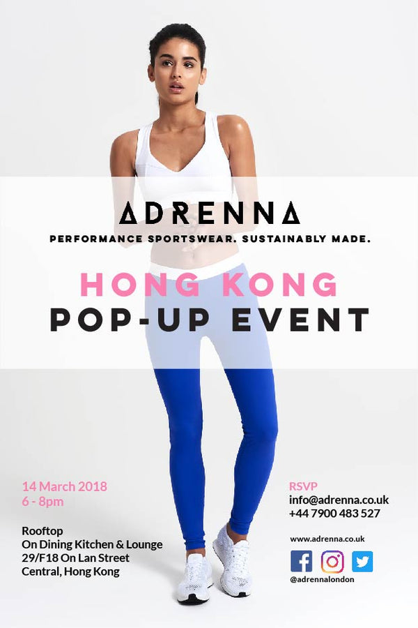 Adrenna is Popping Up