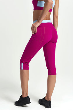 Core Capri Leggings - Pop Duo