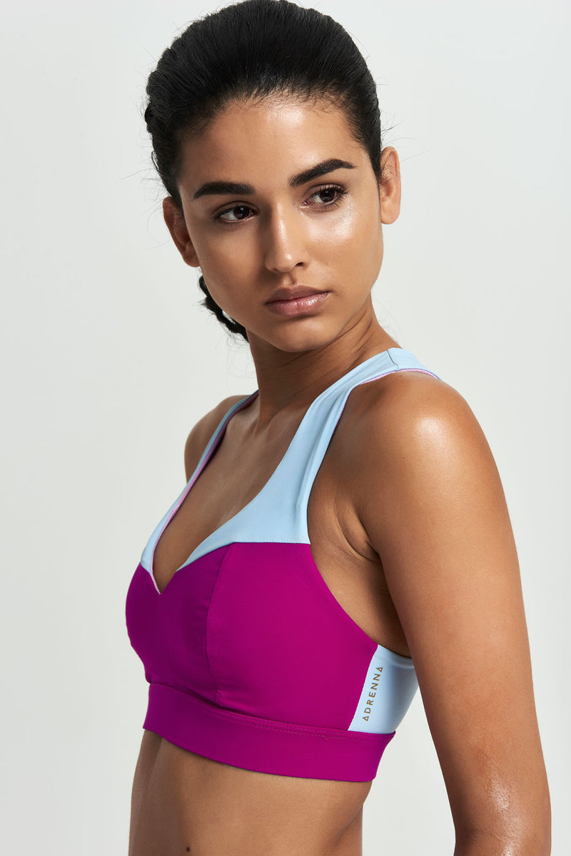 Core Sports Bra - Pop Duo