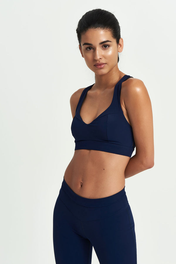 Core Sports Bra - Navy