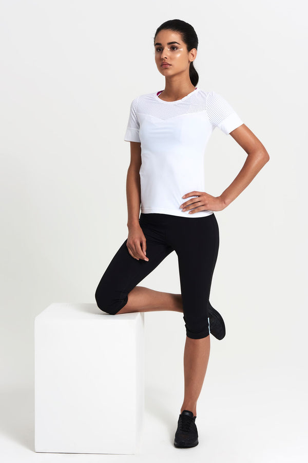 Cross Court T-Shirt - Women's Activewear  - Adrenna