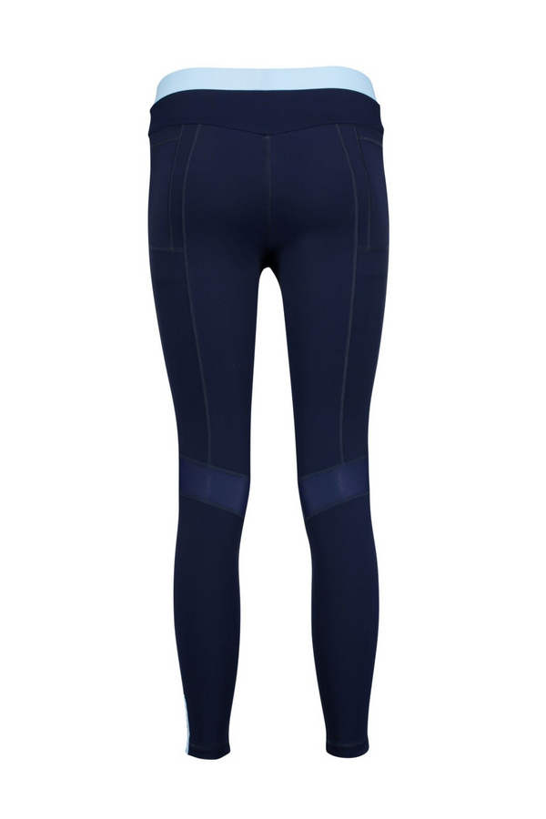 Core Leggings - Ice and Navy