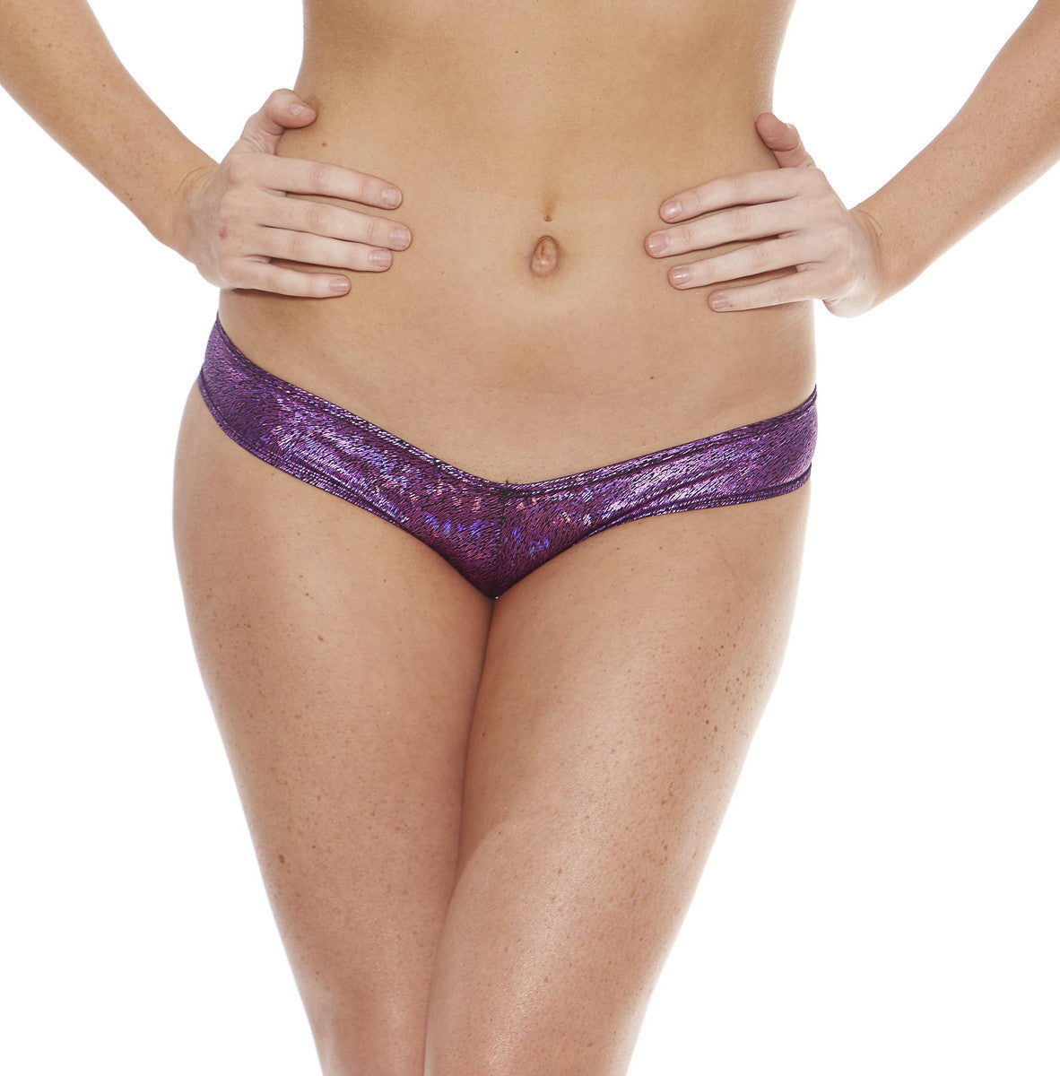 SCRUNCH BACK BOYSHORT IN PLUME