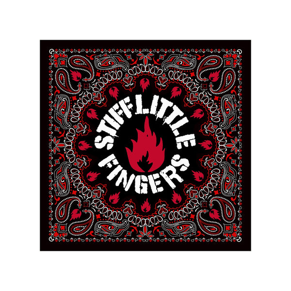 NEW STIFF LITTLE FINGERS BANDANA