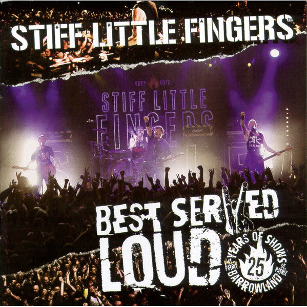 BEST SERVED LOUD - LIVE AT BARROWLAND CD