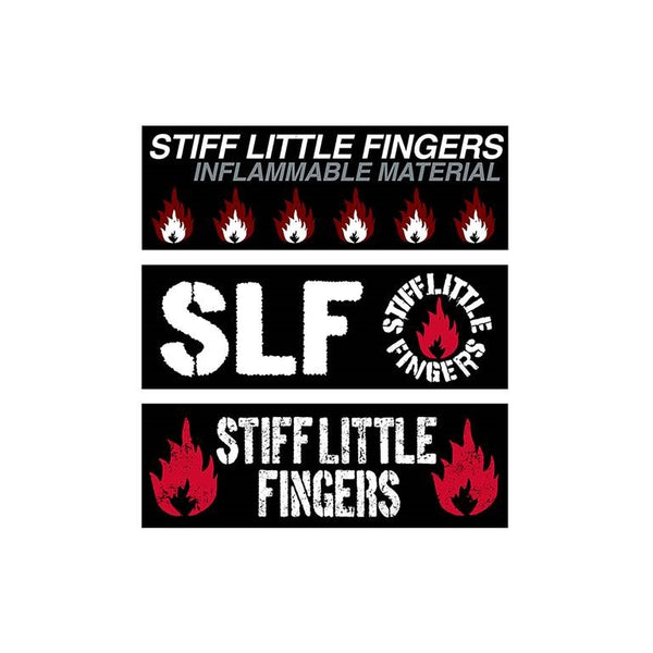 SLF Car Window Stickers