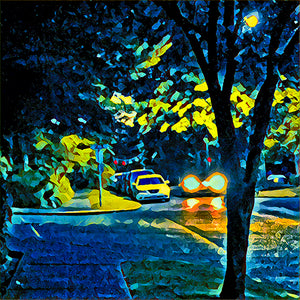 Night Drive On The Blvd Photography Mel Curtis Color- Portfolio2 Gallery