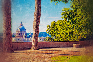 View of St. Peter's Basillica, Rome Photography Mel Curtis Color- Portfolio2 Gallery