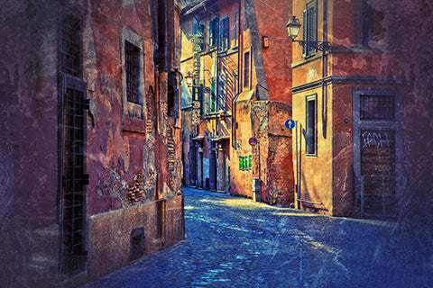Morning Walk, Trastevere Photography Mel Curtis Color- Portfolio2 Gallery