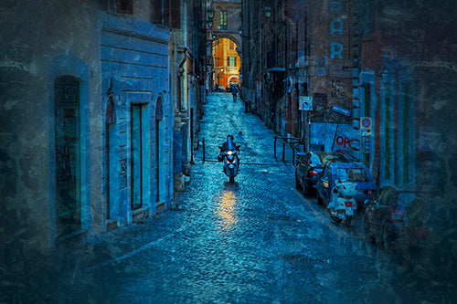 Motorini, Rome Photography Mel Curtis Color- Portfolio2 Gallery