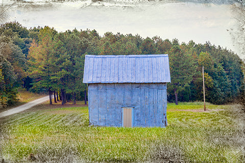 Tobacco Barn, Harvey Rucker's Place Photography Mel Curtis Color- Portfolio2 Gallery