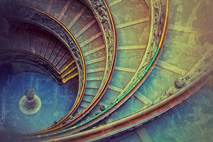 The Vatican Stairs, Rome Photography Mel Curtis Color- Portfolio2 Gallery